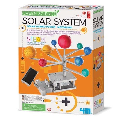 Joc educativ sistemul solar motorizat, Motorised Solar System, Green Science